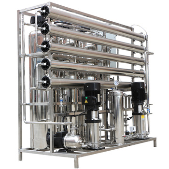 1000LPH Two Stage RO Deionized Water Treatment Plant For Pharmaceuticals Industry Medicine