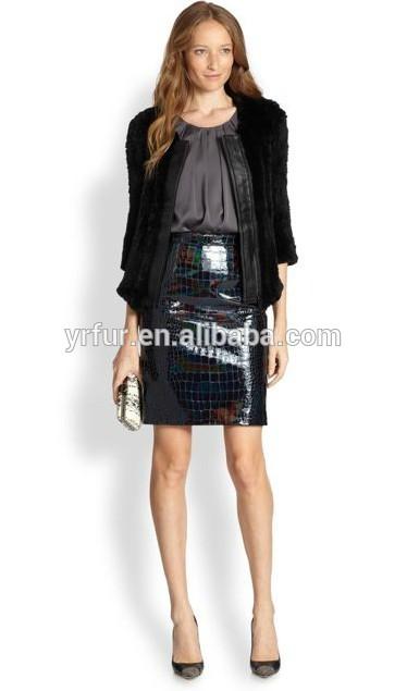 Venta al por mayor chaqueta tres cuartos mujer-Compre online los ...