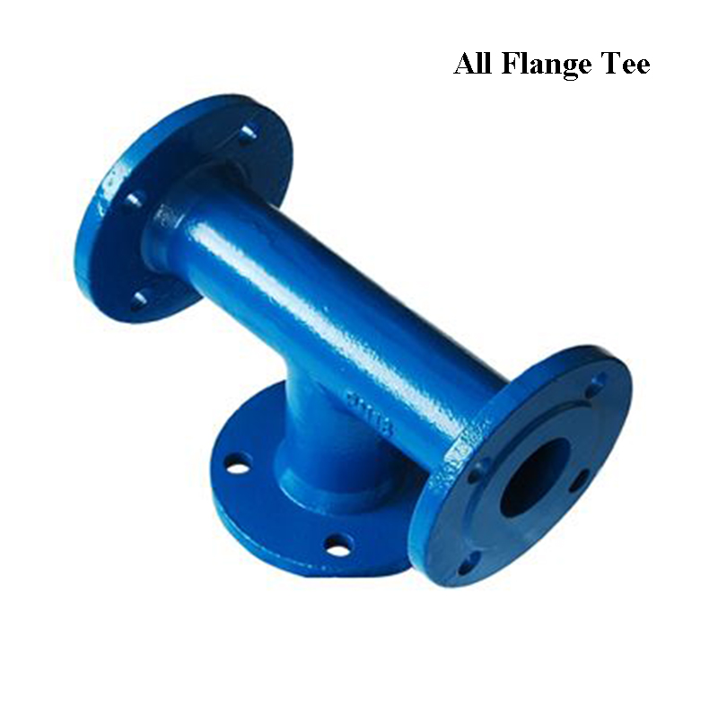 Ductile Iron Fitting All Flange Tee ISO2531 EN545