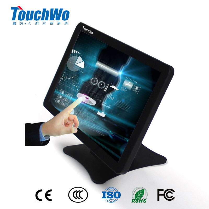 "Modern unique 15.6"" Wall Mount LCD display industrial touch screen A-Si TFT-LCD"