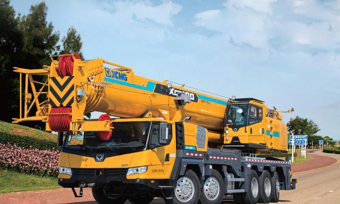 XCT75 75 ton hydraulic mobile truck crane with pilot control