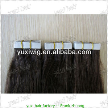 curly /straight strong adhesive tape for hair extensions