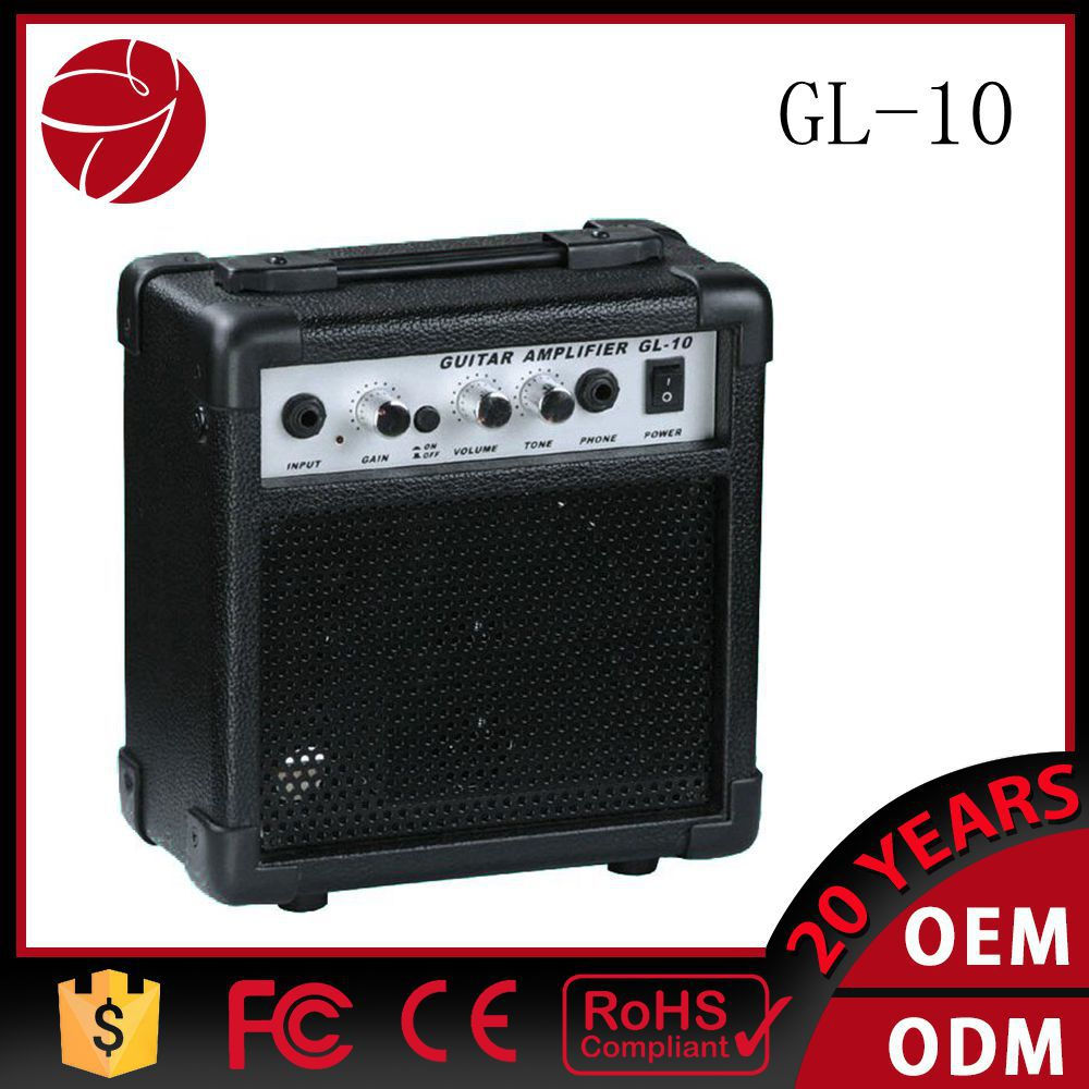 5inch 4 ohm speaker mini guitar amplifier GL-10