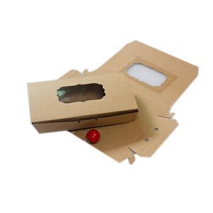 Factory Price Low MOQ Kraft Paper Gift card Box set