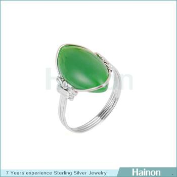newest wholesale finger ring 925 sted silver ring with