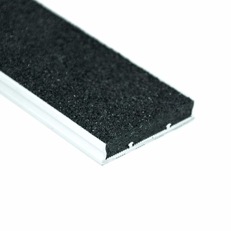 Granite Stair Tread Insert Anti Slip Black Stair Nosing