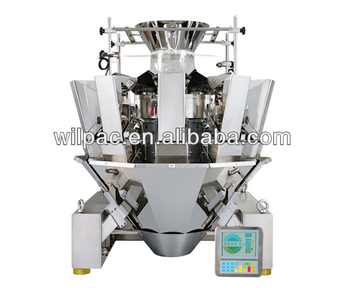 Multihead weigher/weighing scale
