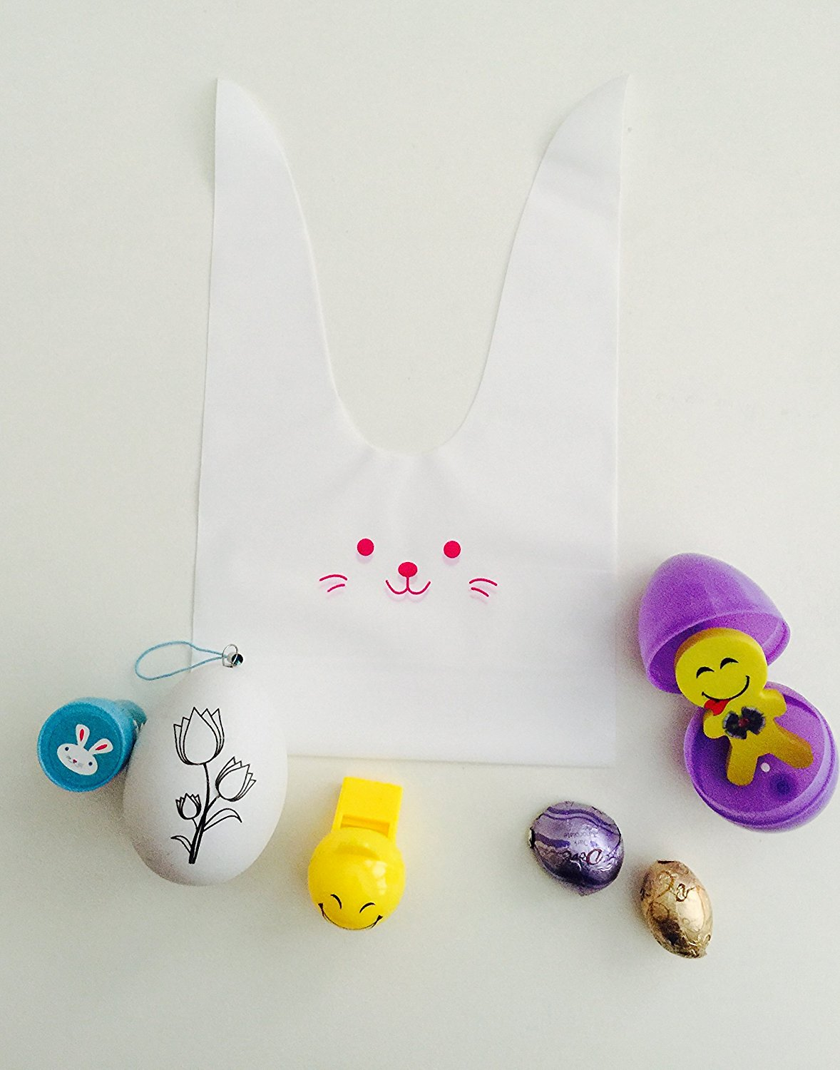 Cheap easter bag ideas find easter bag ideas deals on line at get quotations 24x easter goody bags filled easter eggs pre made filled with toys negle Choice Image