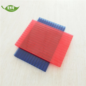 Plastic building material PC sheet/panel/board/plate for construction