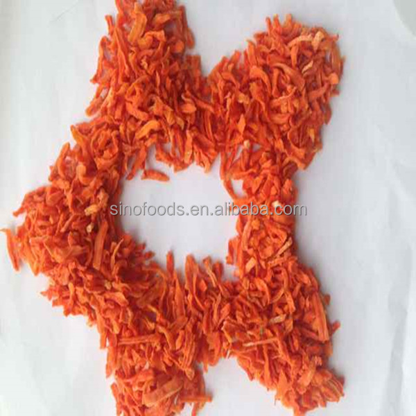 Export standard A grade air Dried Carrot Slices 5*5