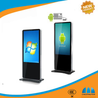 42 Inchs Floor Standing advertising digital signage totem with Android/Windowns and One year Warranty