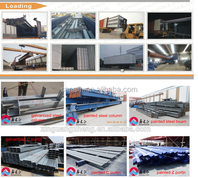 High quality prefabricated steel structure container house