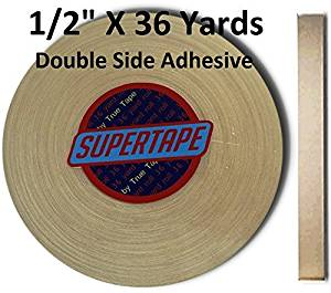 """Supertape 1/2"""" X 36 yard roll Double side adhesive"""