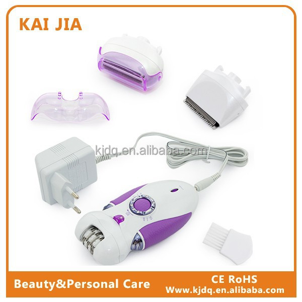 3 In1 Electronic Epilator Electric For Woman Lady Shaver Bikni With CE Approved