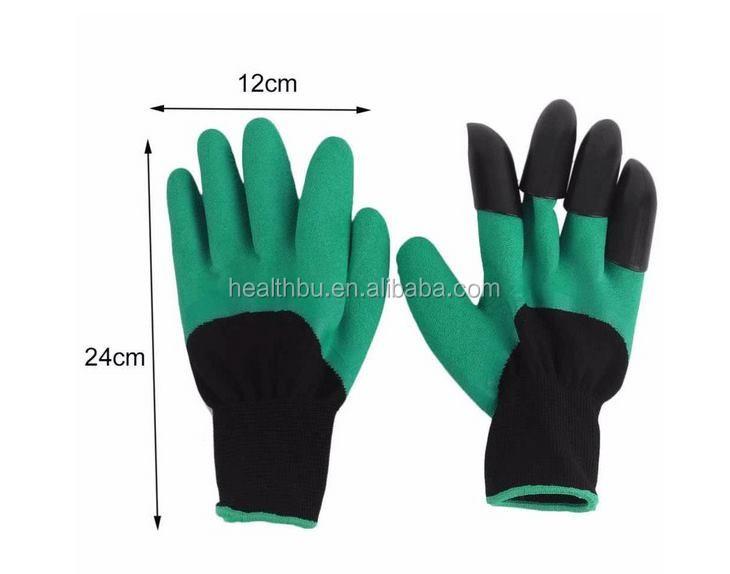 TV Gartenhandschuhe mit Krallen Garden Genie Gloves Arbeitshandschuhe Handschuhe