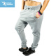 CVC ladies sweatpants high quality grey fleece gym sports pants
