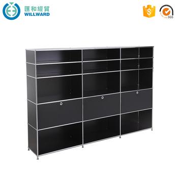 Best Quality Metal School Locker Metal Furniture File Storage Cabinet,  Modular Wall Mounted File Cabinets