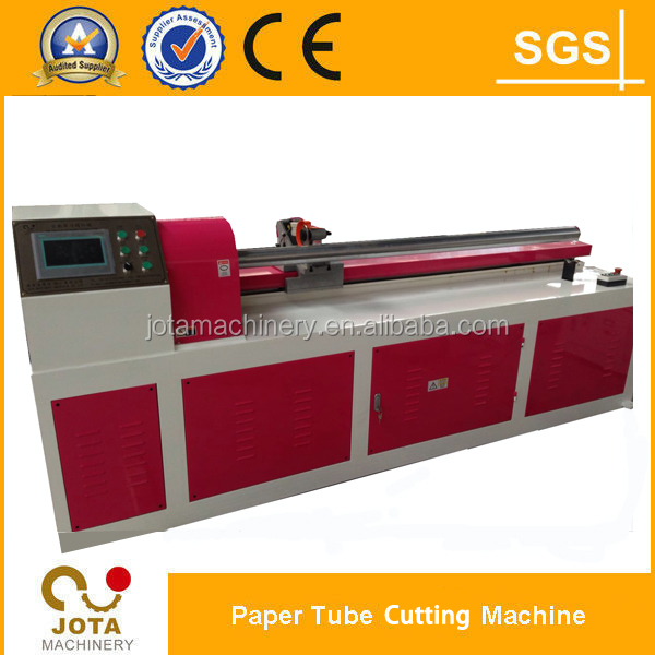 PLC Control Craft Paper Core Tube/Paper Pipe Cutter/Paper Core Cutting Machiner