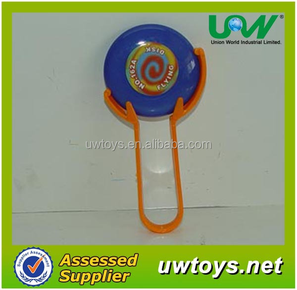 C020 mini catapult flying disc/plastic frisbee
