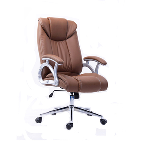 Secretary leather office back support manager design office chair