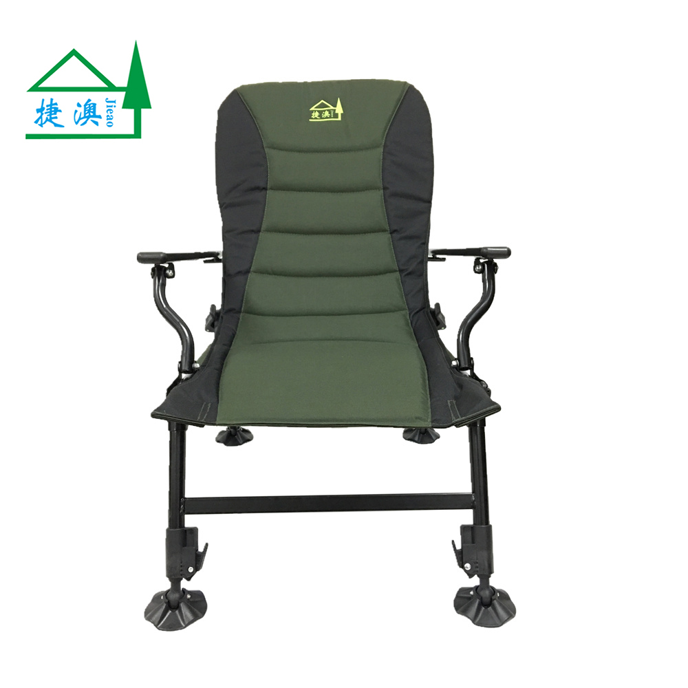 Army Green Portable Folding Carp Fishing Chair carp chair