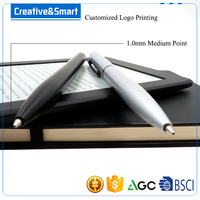 Free Sample Exhibition Items Stocked Rotaion Twist-Action Creative Innovation Fine Point Ink Pens Best Ballpoint Pen For Writing