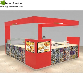 Customized commercial furture indoor mall fast food kiosk design ideas,  View mask design ideas, Perfect Product Details from Shenzhen Perfect