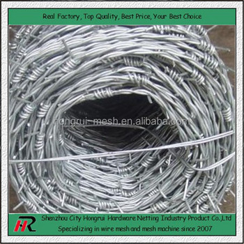 En Wire Price | Factory Price Galvanized Barbed Wire Philippines Length Per Roll 200