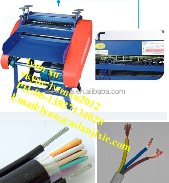 power wire stripper machine / used cable cutting machine /Wire stripper cutter