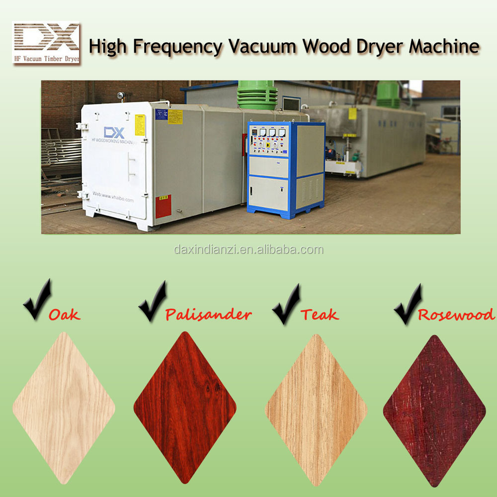 HF vacuum timber dryer oven for sale