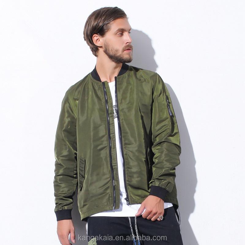 Custom 3m Reflective Dovetail Back Zipper Design Man Fashion ...