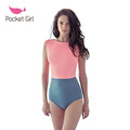 2016 Monokini Women Strapless High Neck Patchwork Sexy Swimsuit One Piece Swimwear Cut Out Crunch High