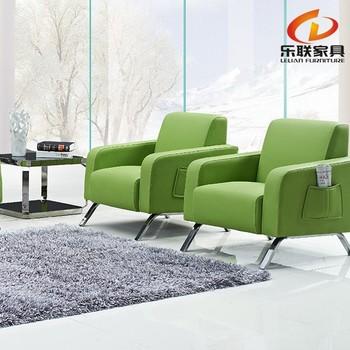 S802 Modern Office Sofa/small Reception Sofa/green Leather Sectional Sofa -  Buy Leather Sectional Sofa,Mall Reception Sofa,Modern Green Leather Office  ...