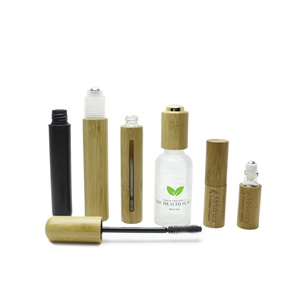 bamboo mascara tube bamboo perfume bottle for makeup BJ-266C
