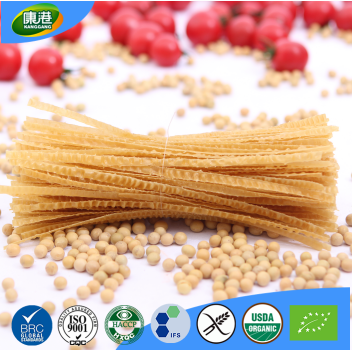 Free sample allergy free no sugar non-fried high protein organic soy bean pasta fettuccine