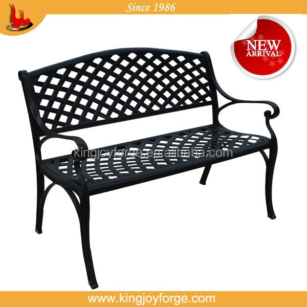 Outdoor Cast Aluminum garden bench