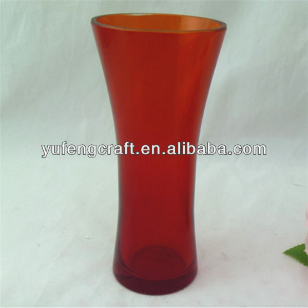 Red Flower Glass Vase Red Glass Vases Wholesale Buy Red Glass Vases Wholesale Cheap Wholesale Glass Vases Royal Blue Wedding Decoration Product On Alibaba Com