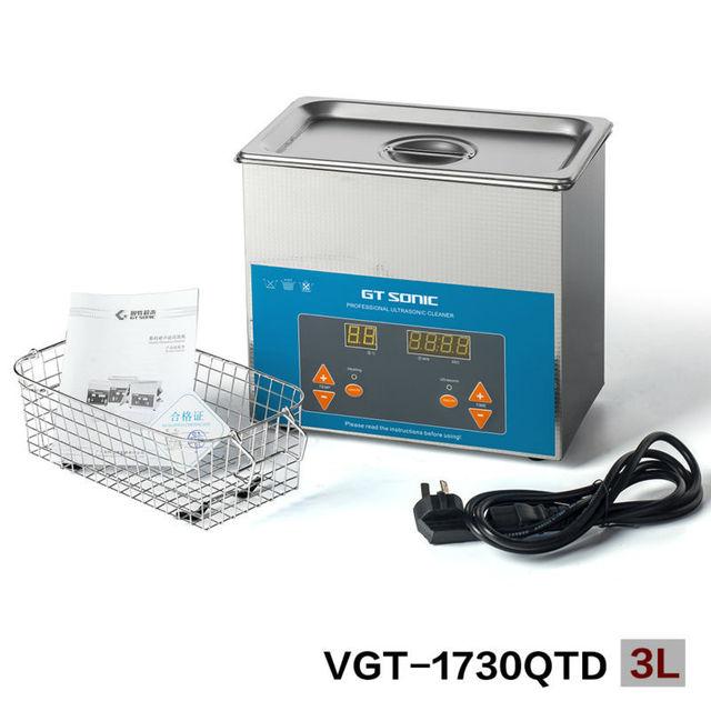 3L Benchtop Ultrasonic Cleaner for denture ultrasonic bath
