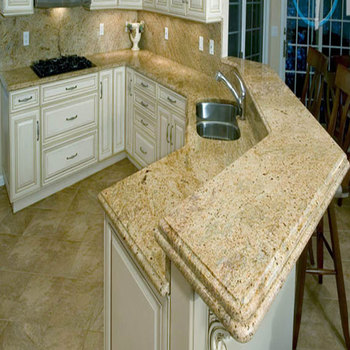 Indian Kashmir Gold Granite Kitchen Countertop Price - Buy Granite  Countertop,Gold Granite Countertop,Kashmir Gold Granite Countertop Product  on ...
