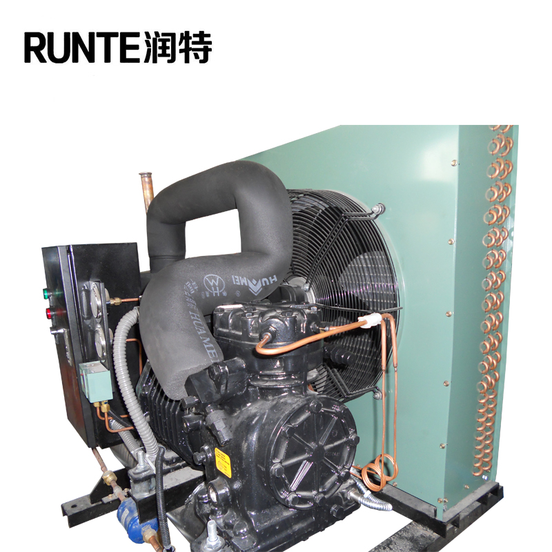 semi-hermetic commercial low temperature refrigeration equipment r22 refrigeration compressor cooling unit