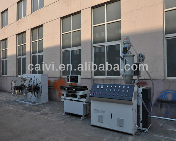PVC Gas Barbecue Cooker Pipe Production line/ Making machine
