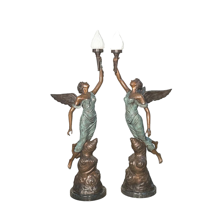 Bronze Angel Lamps, Bronze Angel Lamps Suppliers And Manufacturers At  Alibaba.com