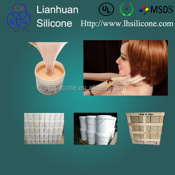 Medical Grade Liquid Silicone Rubber For Body Parts Casting - Buy Real Skin  Feel Silicone Rubber Material For Prosthetic Mold Make,Medical Grade