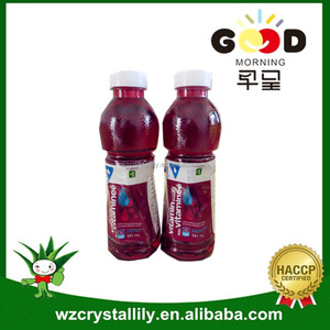 Vitamin water with pomegranate&blueberry flavor
