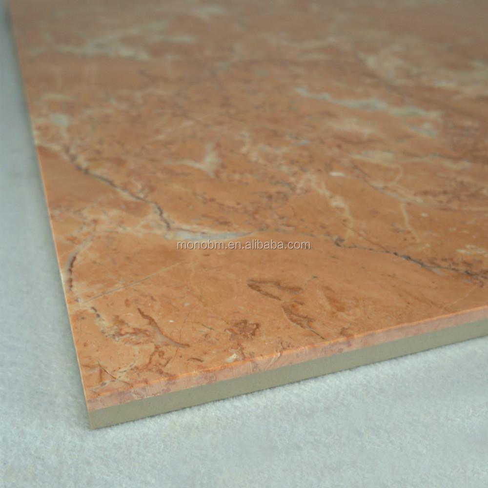 Suelo de marmol precio interesting detalle del suelo en for Marmol color naranja