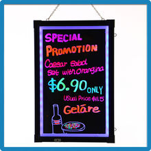 Best selling consumer products led displays message menu writing board battery operated led board