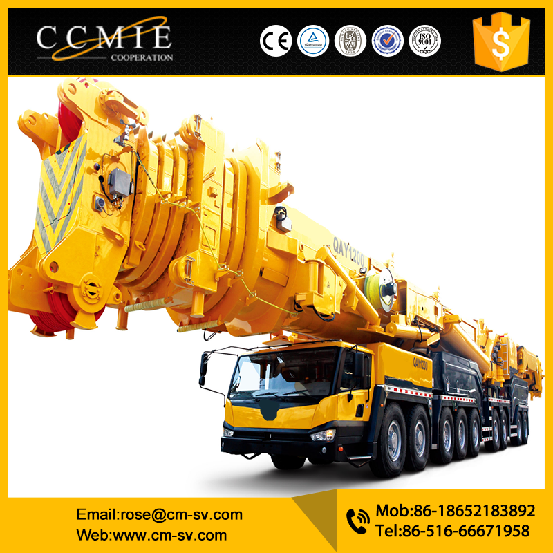 Advanced technology max lifting moment 40t.m Truck Mounted Crane Knuckle Boom Type SQ16ZK4Q with low price