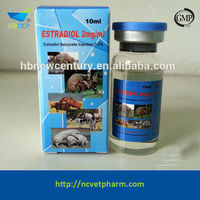 Animal Pharmaceutical Product 0.2% Estradiol Benzoate Injection ...