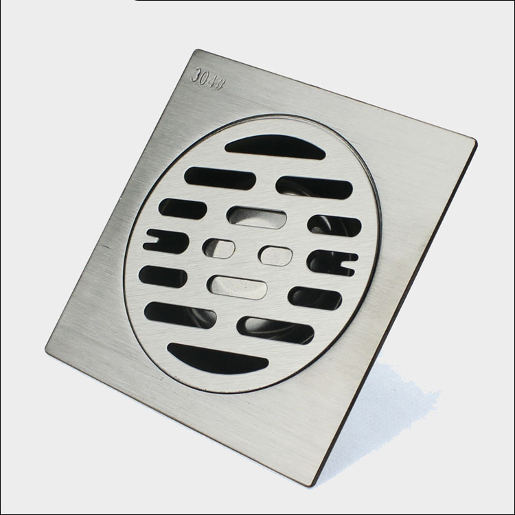 soncen bathroom and toilet square stainless steel floor drain cover