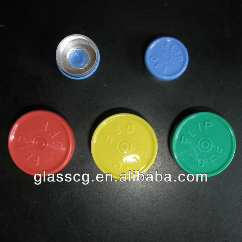 Medical bottle caps aluminum flip off cap for sale paypal accept